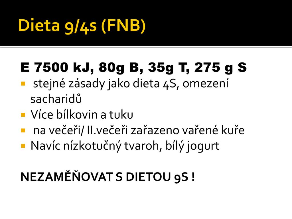 diéta 4s)