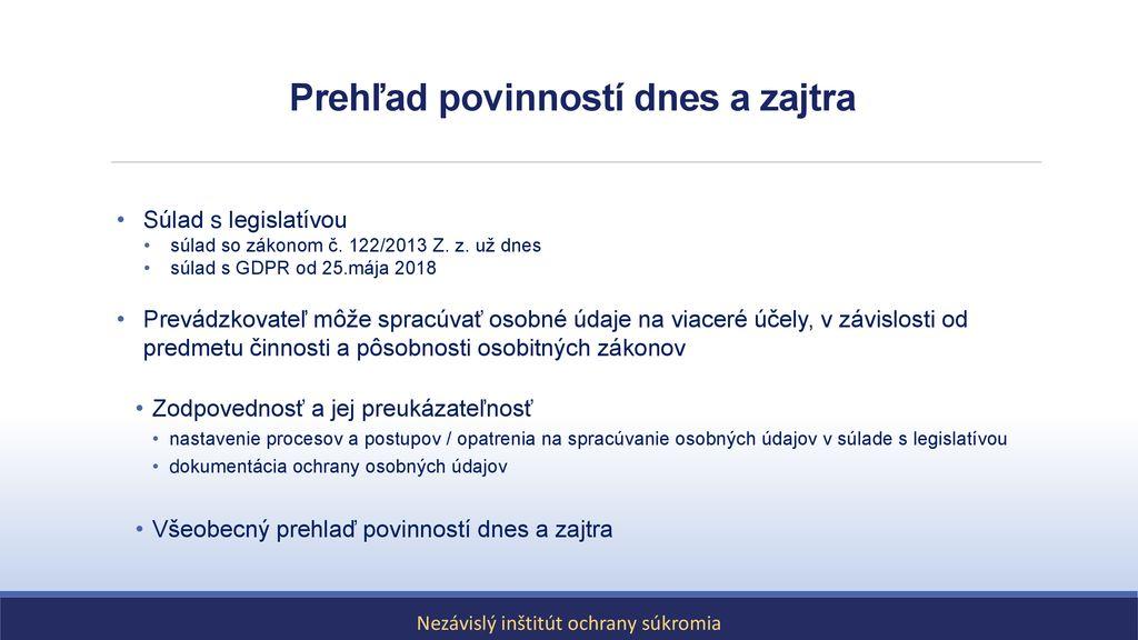 Datovania pravidlá 2013