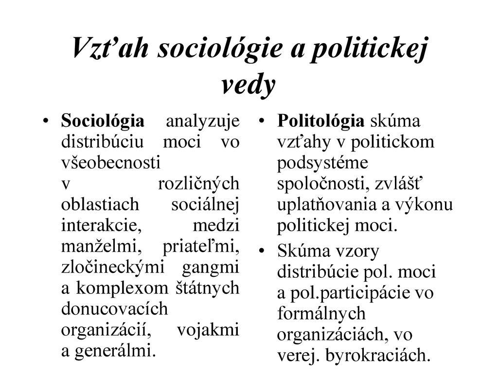 tradičné datovania vzor sociológie