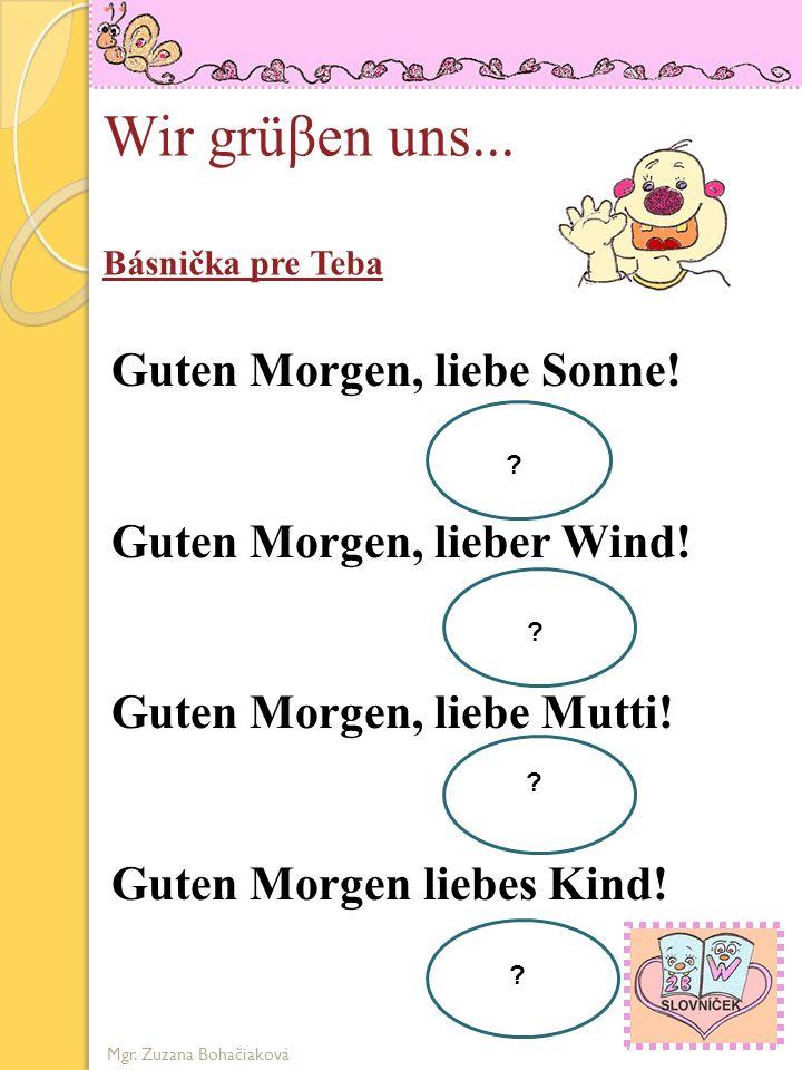 Guten Morgen Liebe Sonne Text Deutsches Lied 2019 11 13