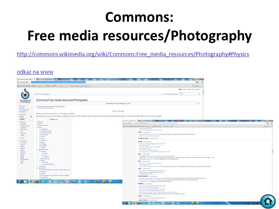 Commons: Free media resources/Photography