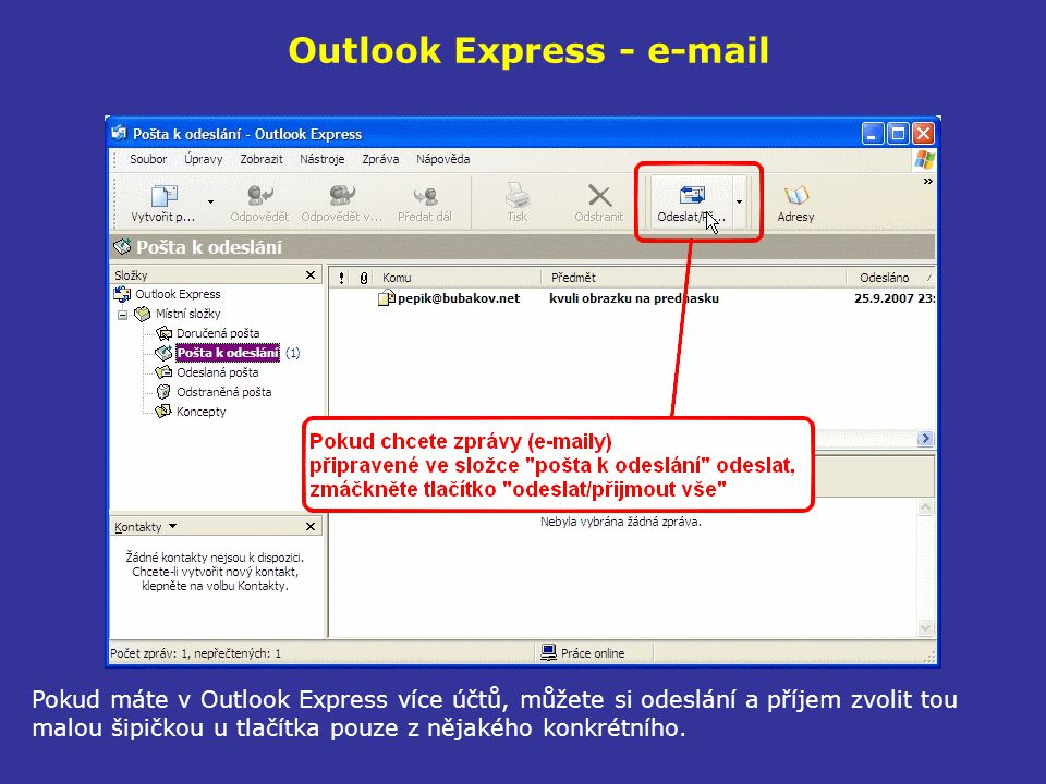 Outlook Express - e-mail