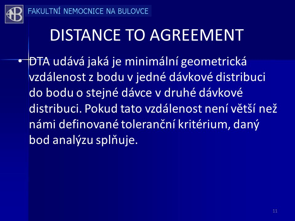 DISTANCE TO AGREEMENT