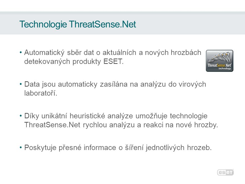 Technologie ThreatSense.Net