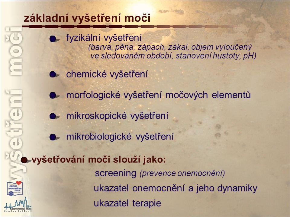 Vysetreni Moci Klinicko Biochemicka Diagnostika A Metody Stanoveni