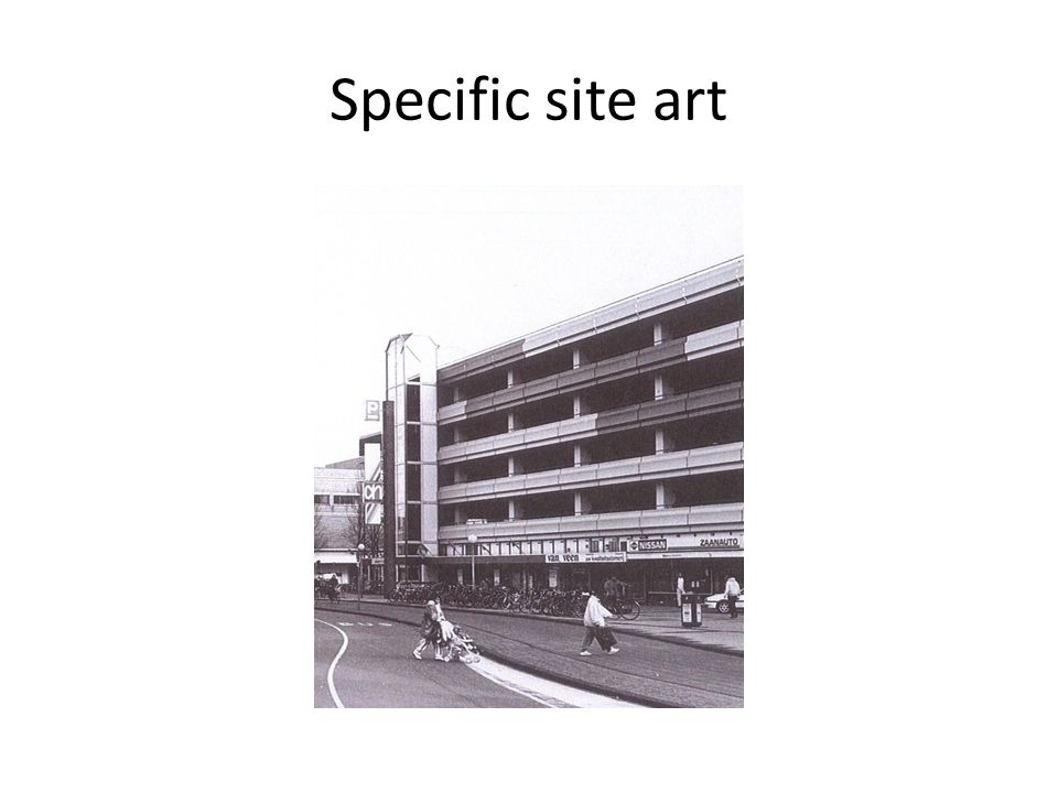 Specific site art