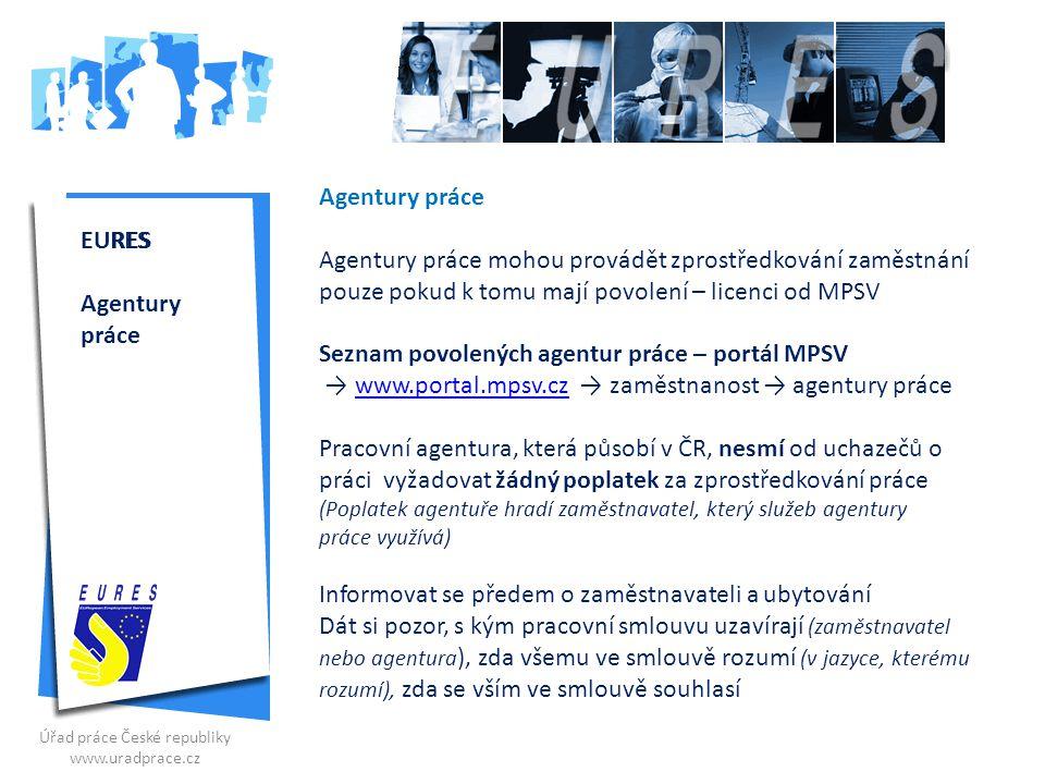 agentura pro zprostředkování zaměstnáníchodit nebo chodit