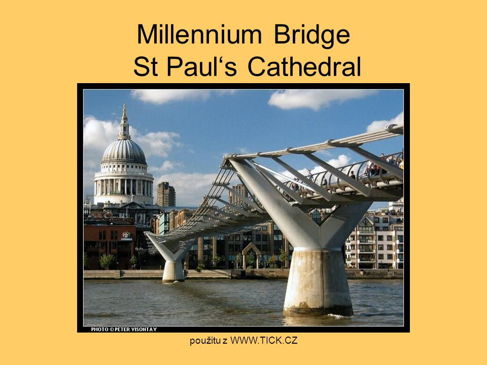 Millennium Bridge St Paul's Cathedral