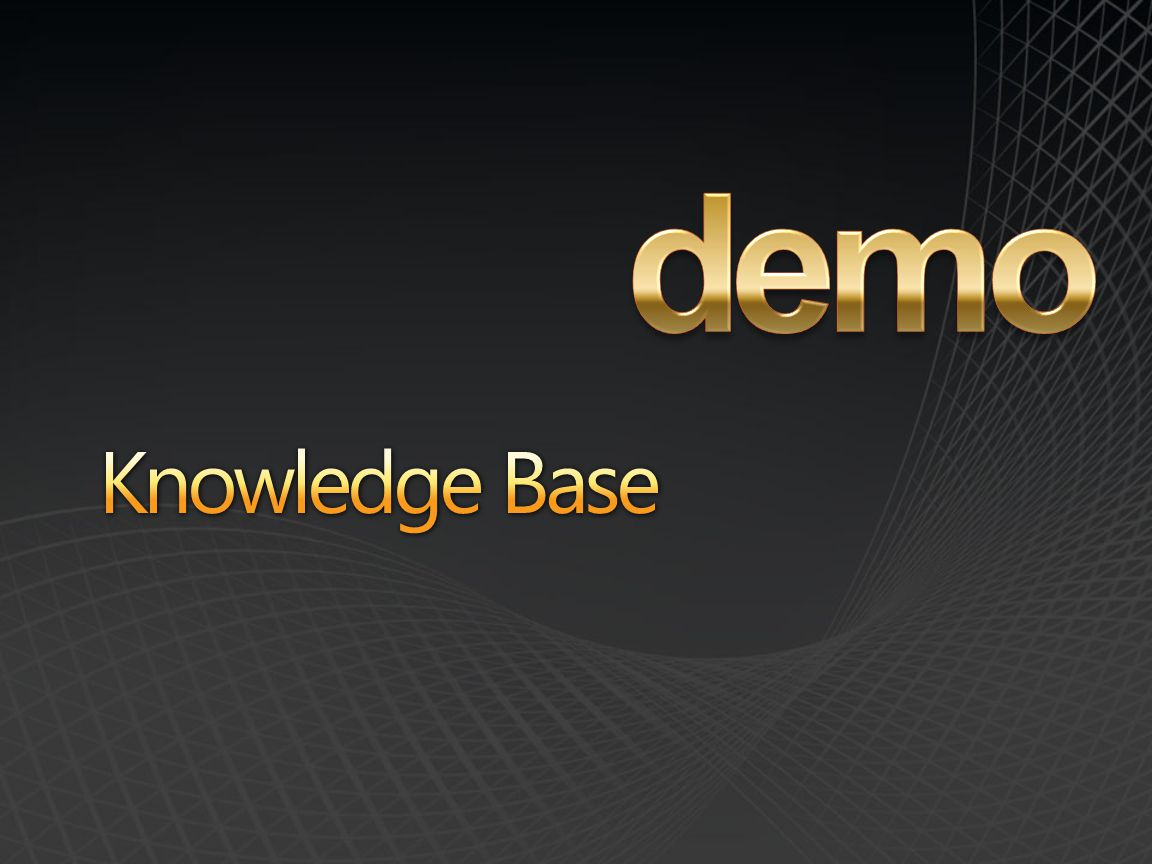 demo Knowledge Base
