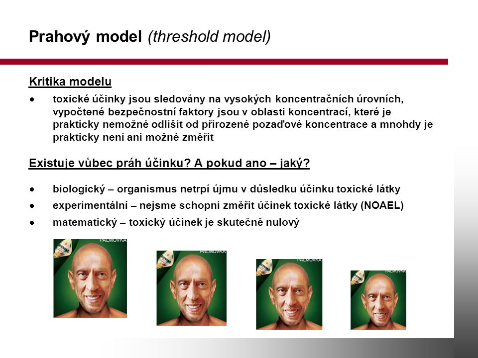 Prahový model (threshold model)