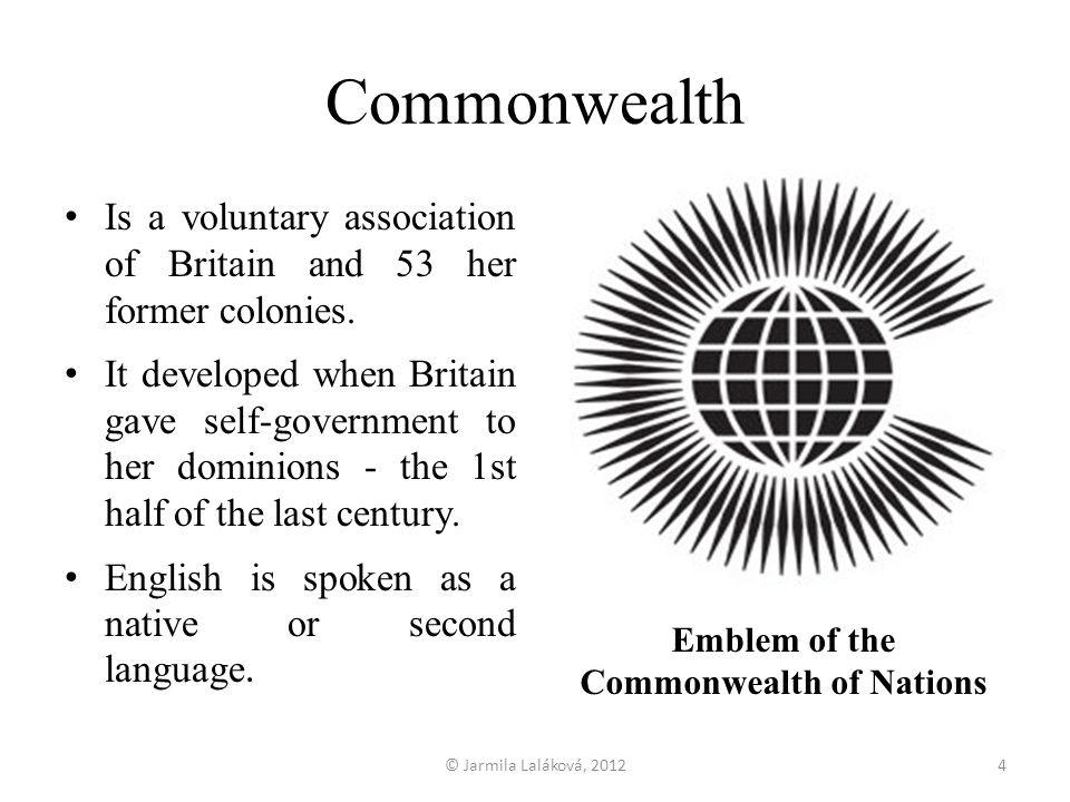 Emblem of the Commonwealth of Nations