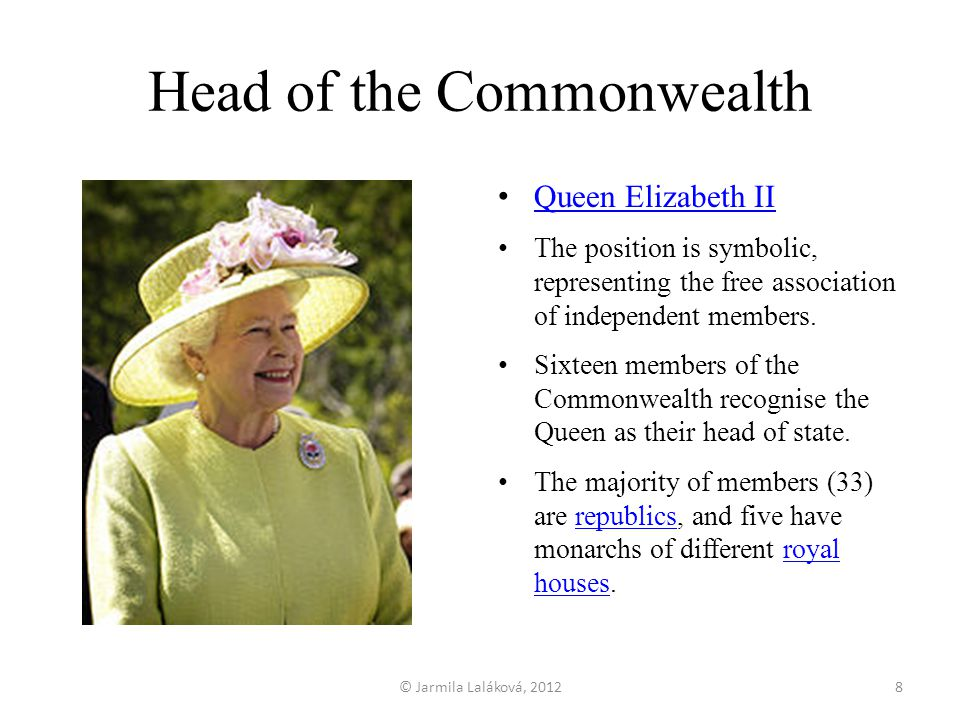 Head of the Commonwealth