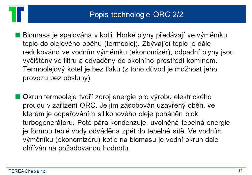 Popis technologie ORC 2/2