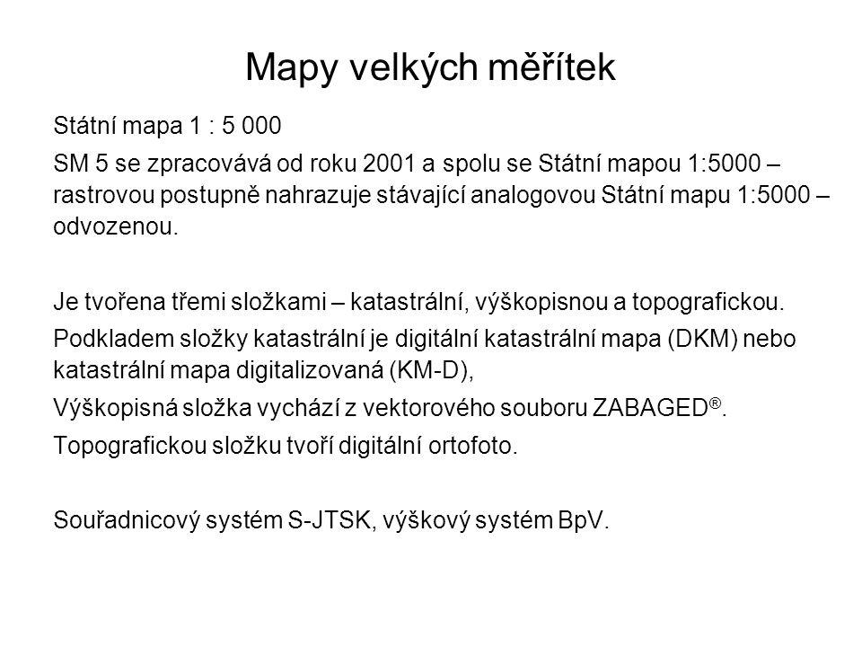Statni Mapova Dila Cr A Ucelove Mapy Pro Vystavbu Ppt Stahnout