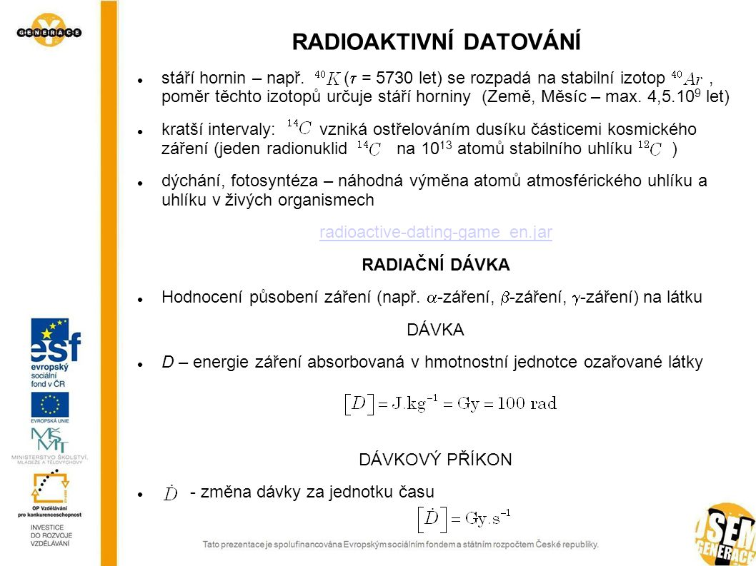 Radiokarbonové datování v archeologických metodách a aplikacích