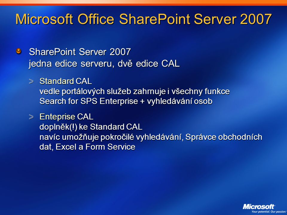 Microsoft Office SharePoint Server 2007