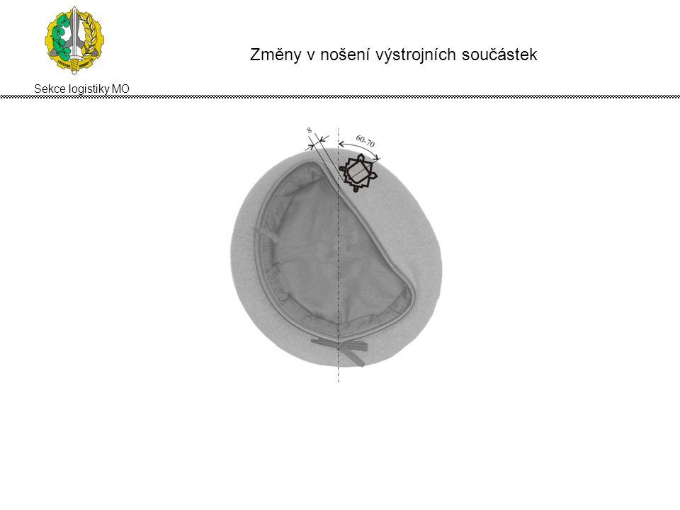 Sekce logistiky MO Zásadní změny v pravidlech pro nošení vojenského ... 70d3d883bb