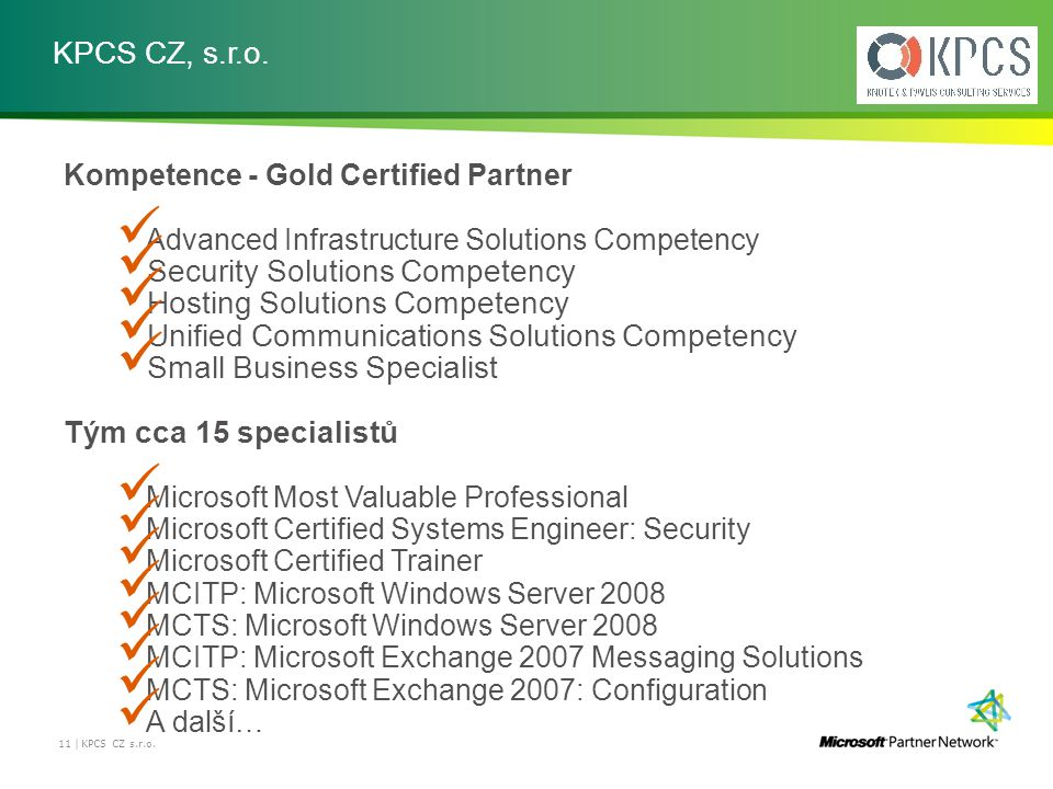 Security Solutions Competency Hosting Solutions Competency