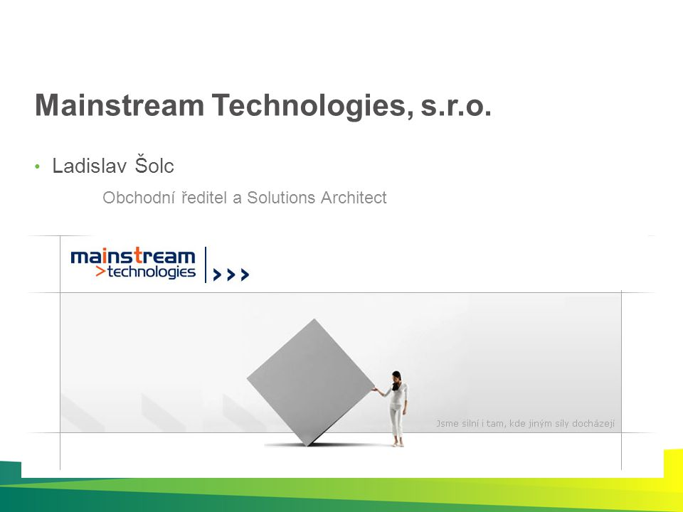 Mainstream Technologies, s.r.o.