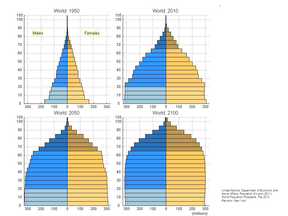 United Nations, Department of Economic and Social Affairs, Population Division (2011): World Population Prospects: The 2010 Revision.