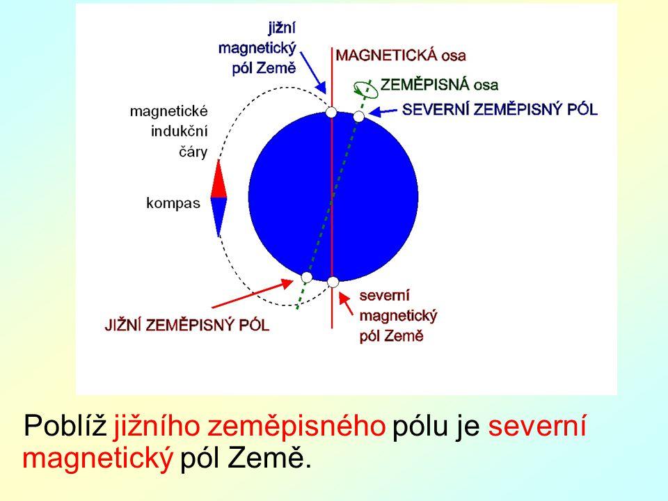 Výsledek obrázku pro magnetické pole Země