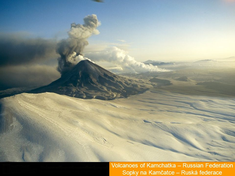 Volcanoes of Kamchatka – Russian Federation
