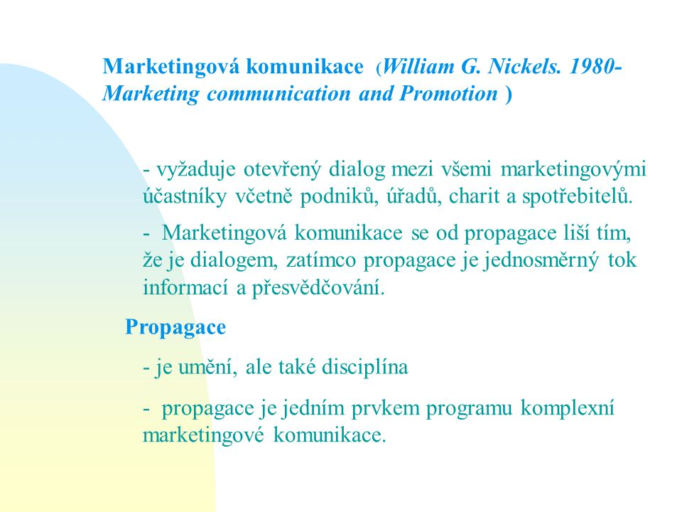 Marketingová komunikace (William G. Nickels