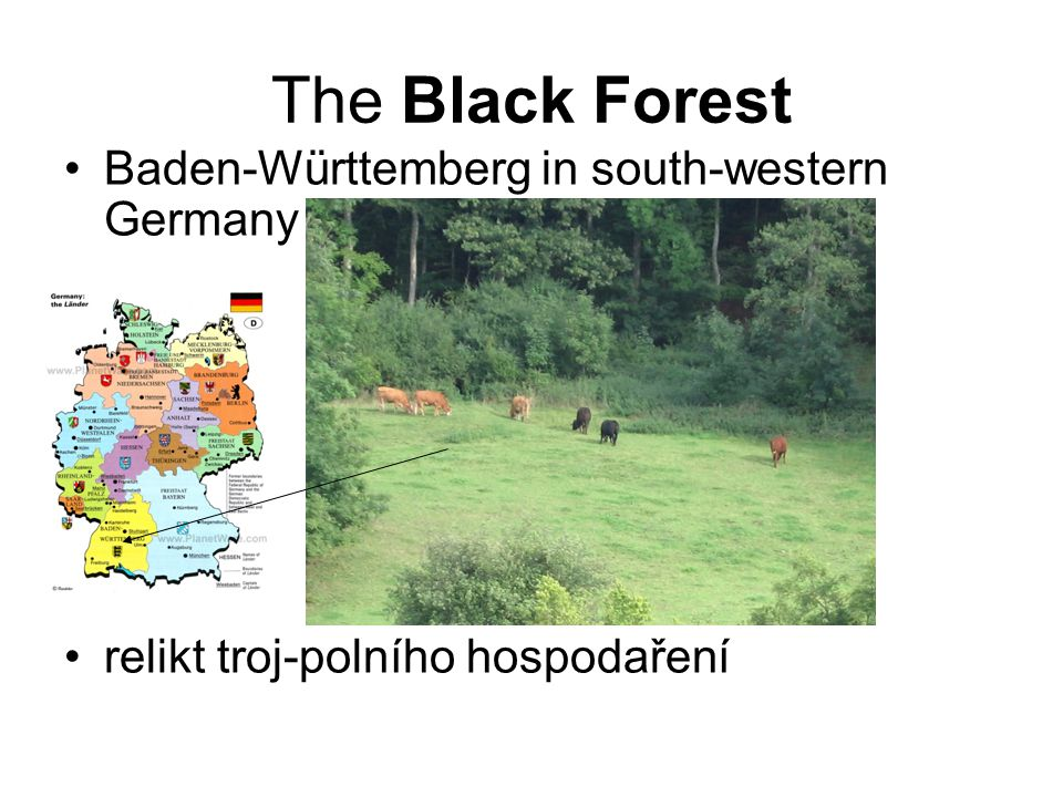 The Black Forest Baden-Württemberg in south-western Germany