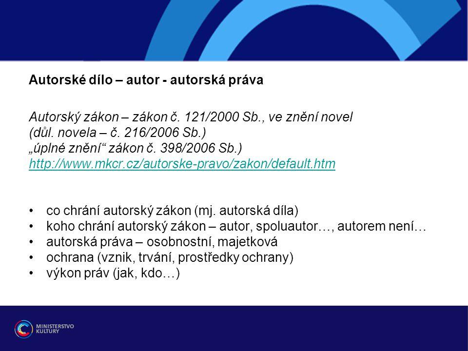Diplomové práce z hlediska autorského práva - ppt stáhnout 7292c10746