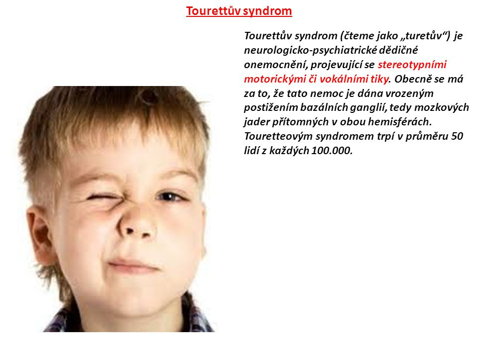 Tourettův syndrom