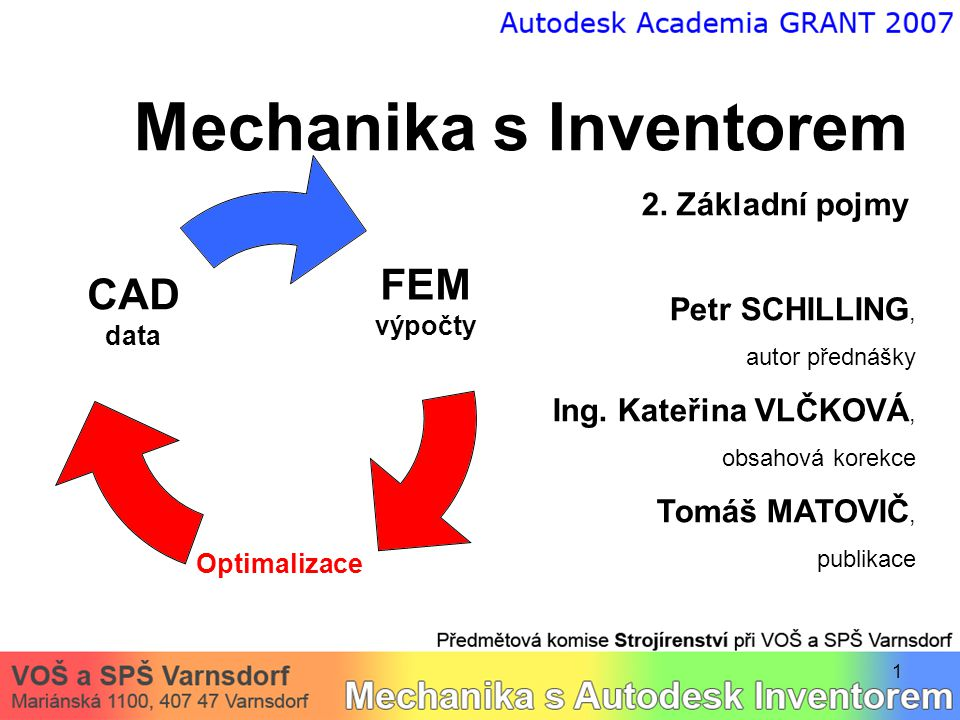Mechanika s Inventorem