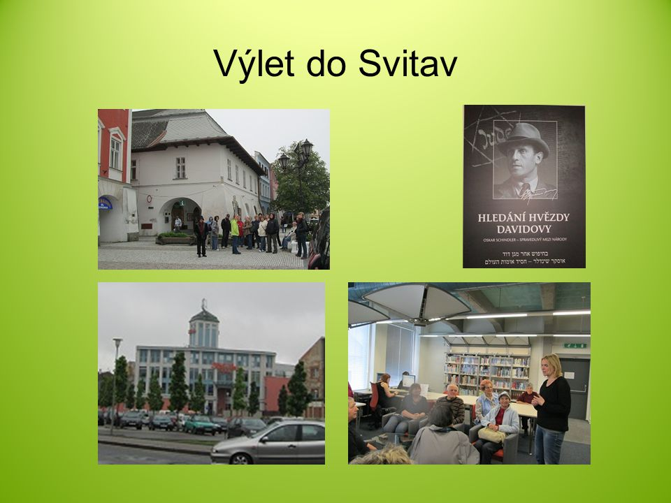 Výlet do Svitav