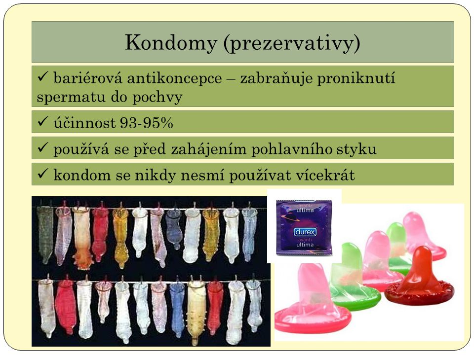Kondomy (prezervativy)