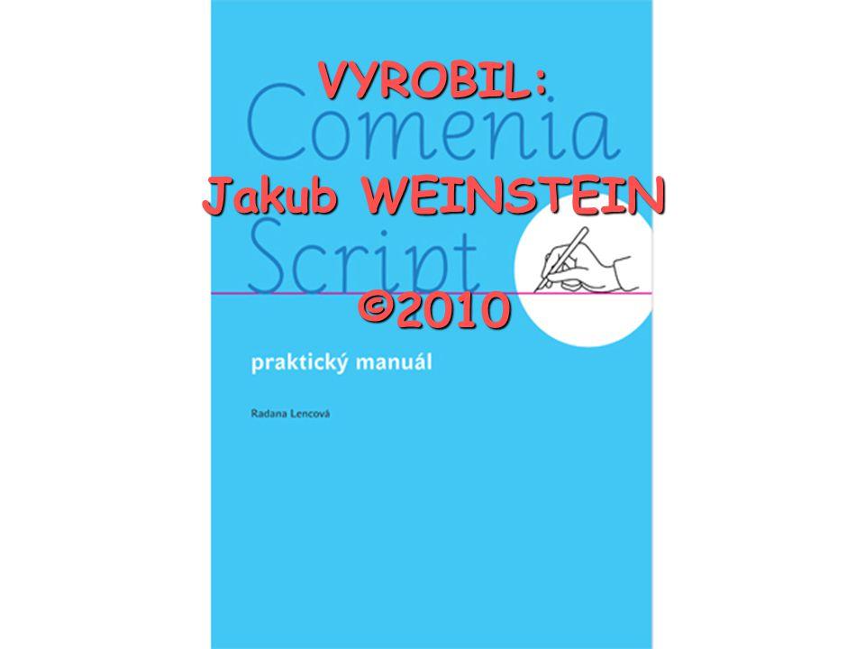 Jakub Weinstein Comenia Script Ppt Stahnout