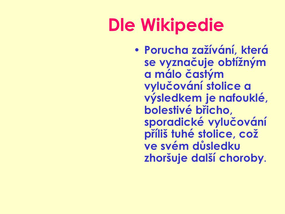 Dle Wikipedie