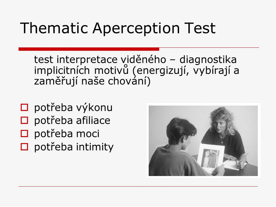 Thematic Aperception Test