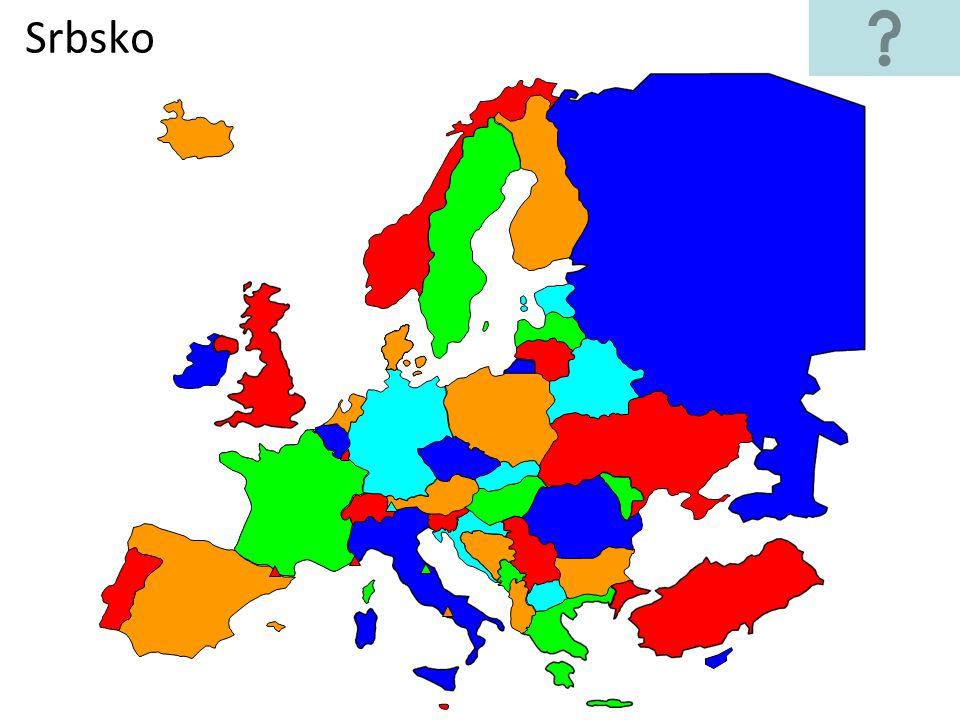 Najdi Na Slepe Mape Evropy Staty Podle Zadani Ppt Stahnout