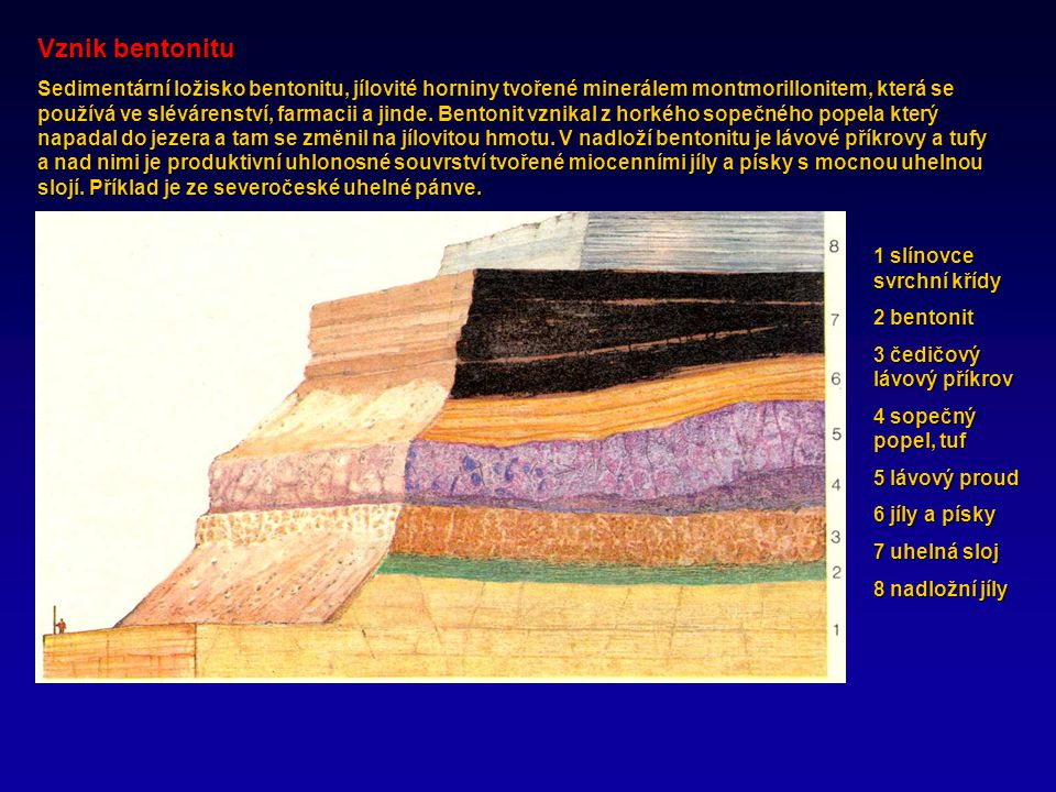 Radiometrická sopečná hornina