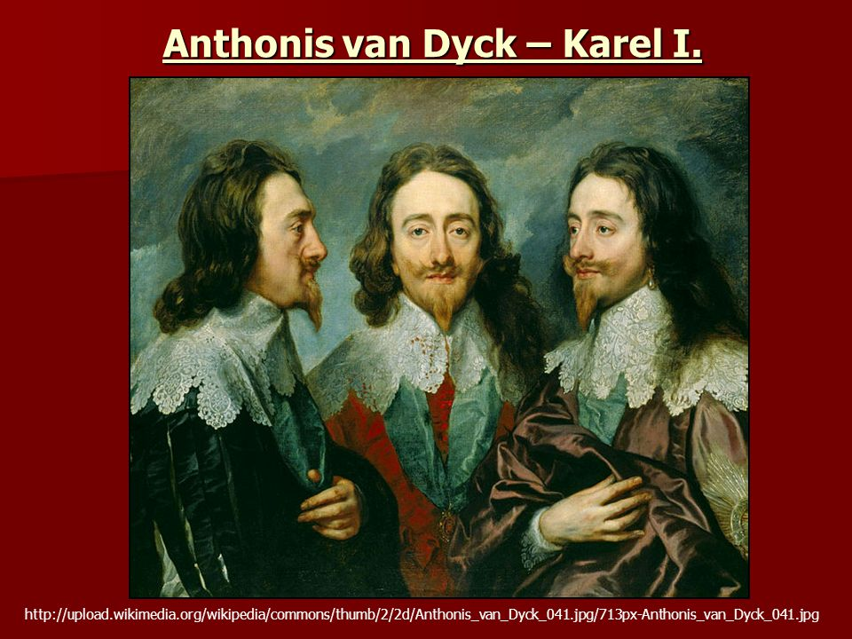 Anthonis van Dyck – Karel I.