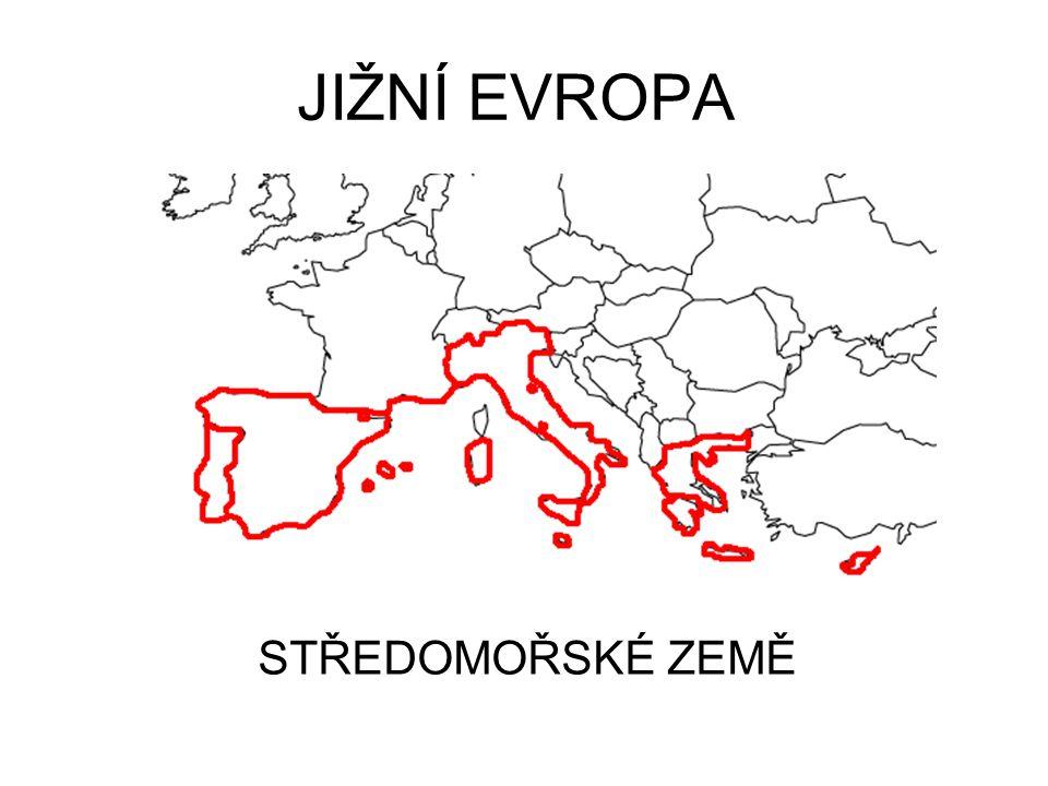 Jizni Evropa Stredomorske Zeme Ppt Stahnout