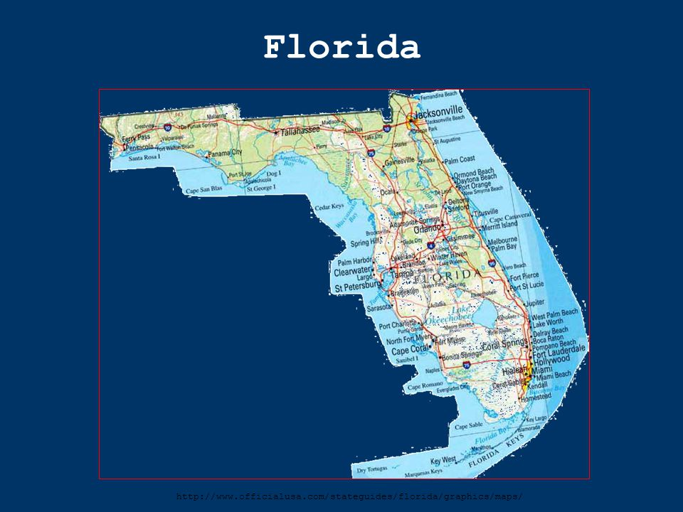 Florida http://www.officialusa.com/stateguides/florida/graphics/maps/
