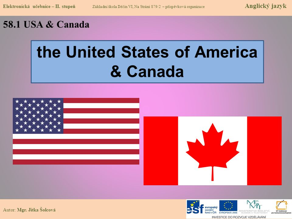 the United States of America & Canada