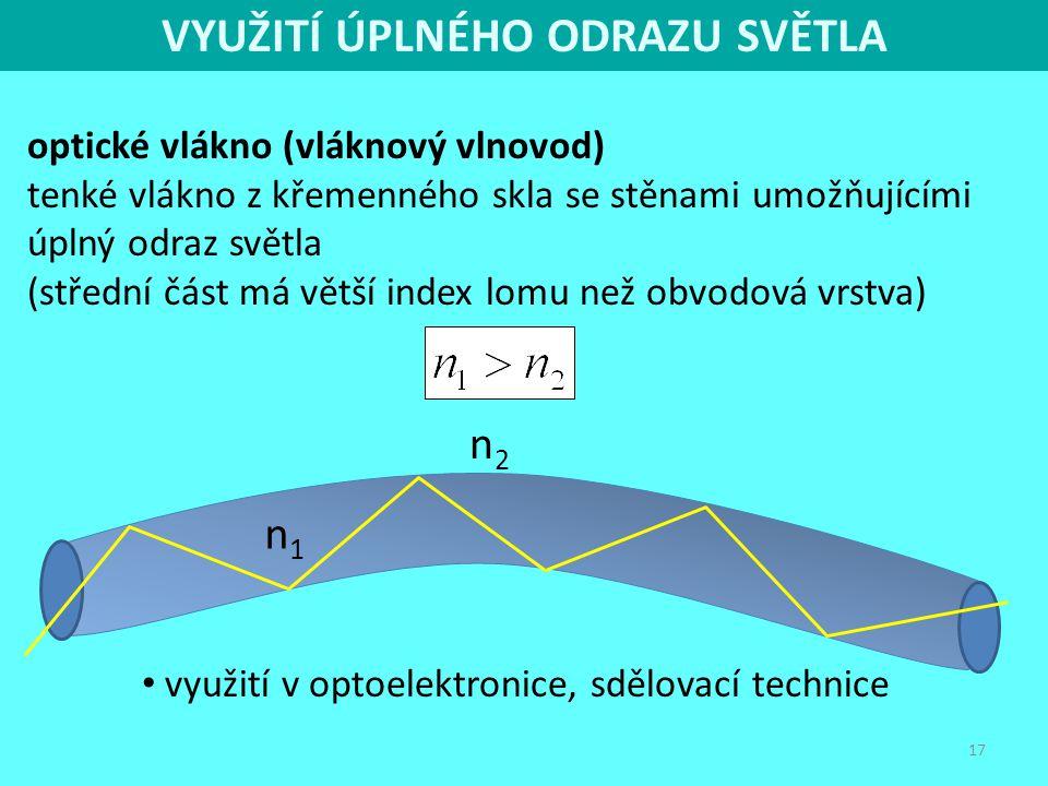 1de6ca2cd FYZIKA PRO IV. ROČNÍK GYMNÁZIA - OPTIKA - ppt stáhnout