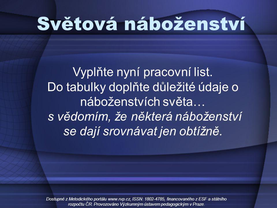Rozpoctu Cr Provozovano Vyzkumnym Ustavem Pedagogickym V Praze