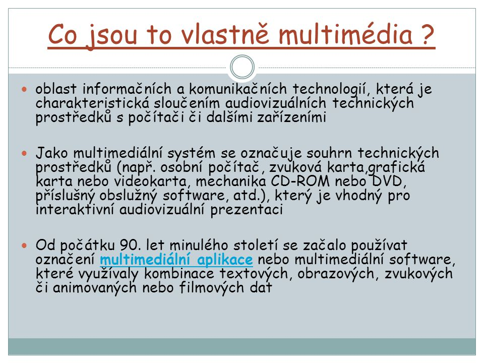 Multimedia Dvorakova 4 C Ppt Stahnout