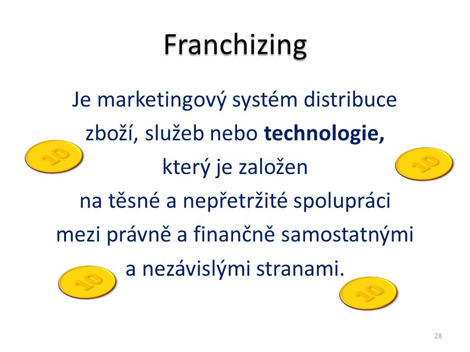 Franchizing