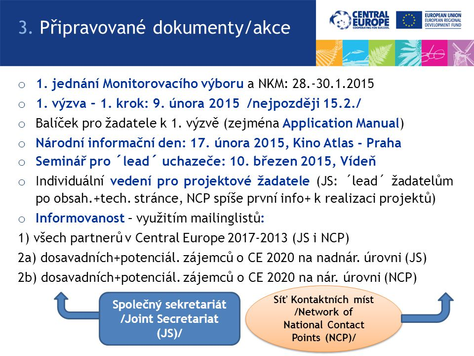 /Network of National Contact Points (NCP)/ /Joint Secretariat (JS)/