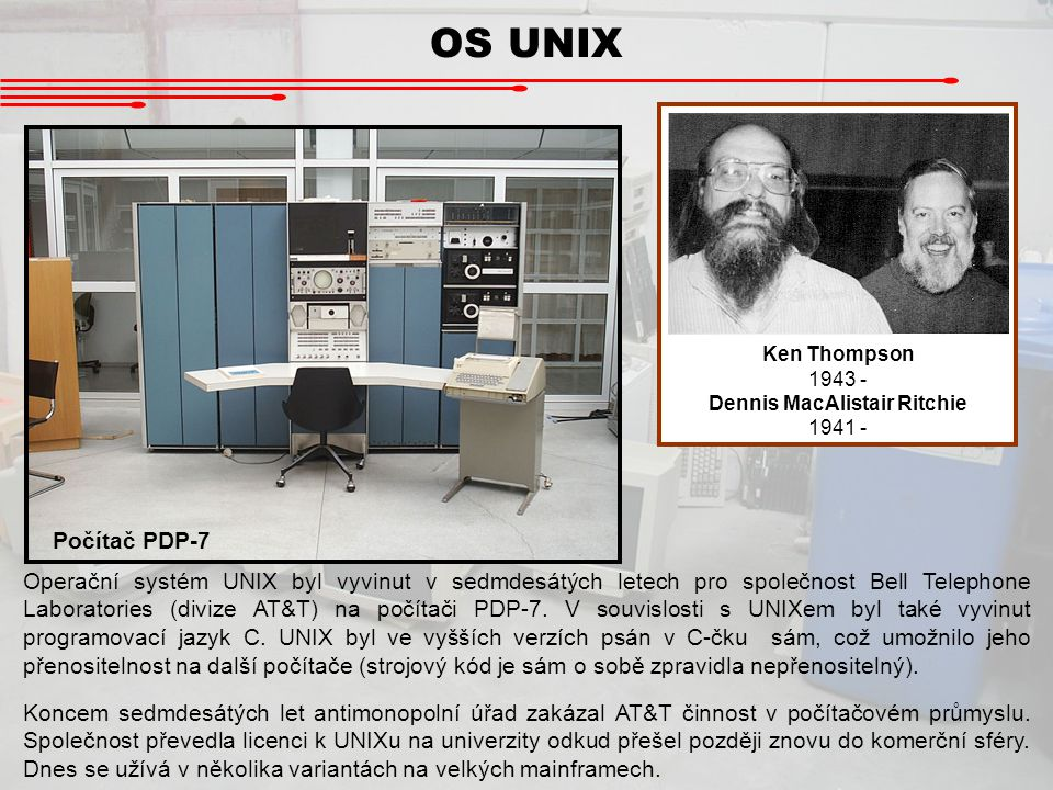Dennis MacAlistair Ritchie