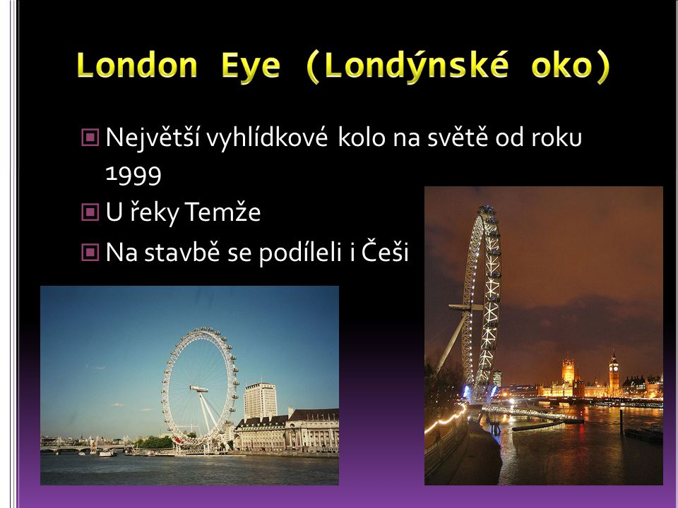 London Eye (Londýnské oko)