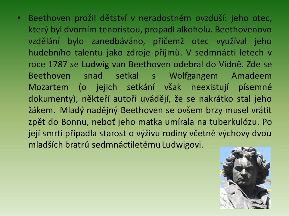 Ludwig Van Beethoven Ppt Stahnout